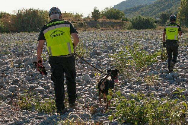 soccorso cinofilo Liguria