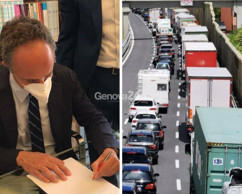 Ferruccio Sansa - class action vs Autostrade