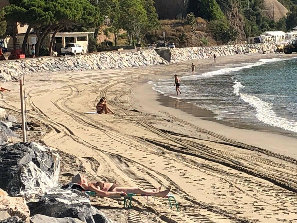 Lavori Spiaggia Porto Alassio