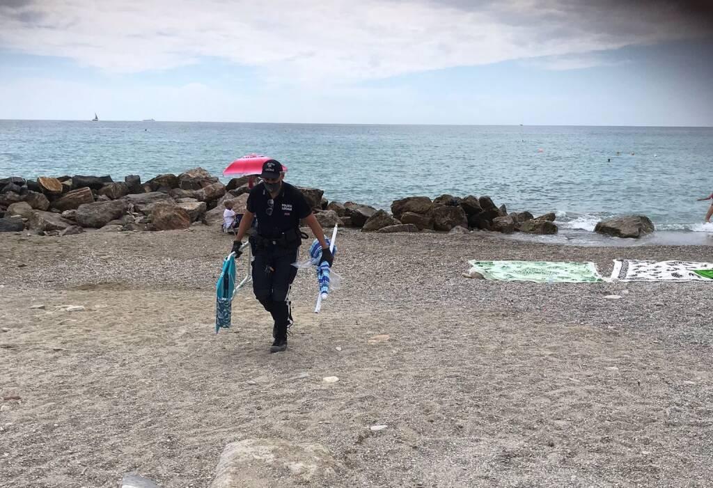 Polizia Loano Spiaggia