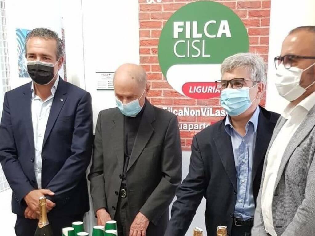 Inaugurazione Sede Filca Cgil Genova