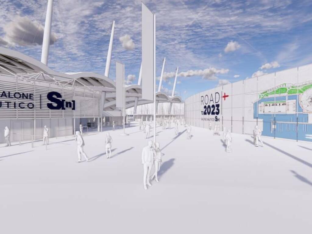salone nautico 2021 rendering