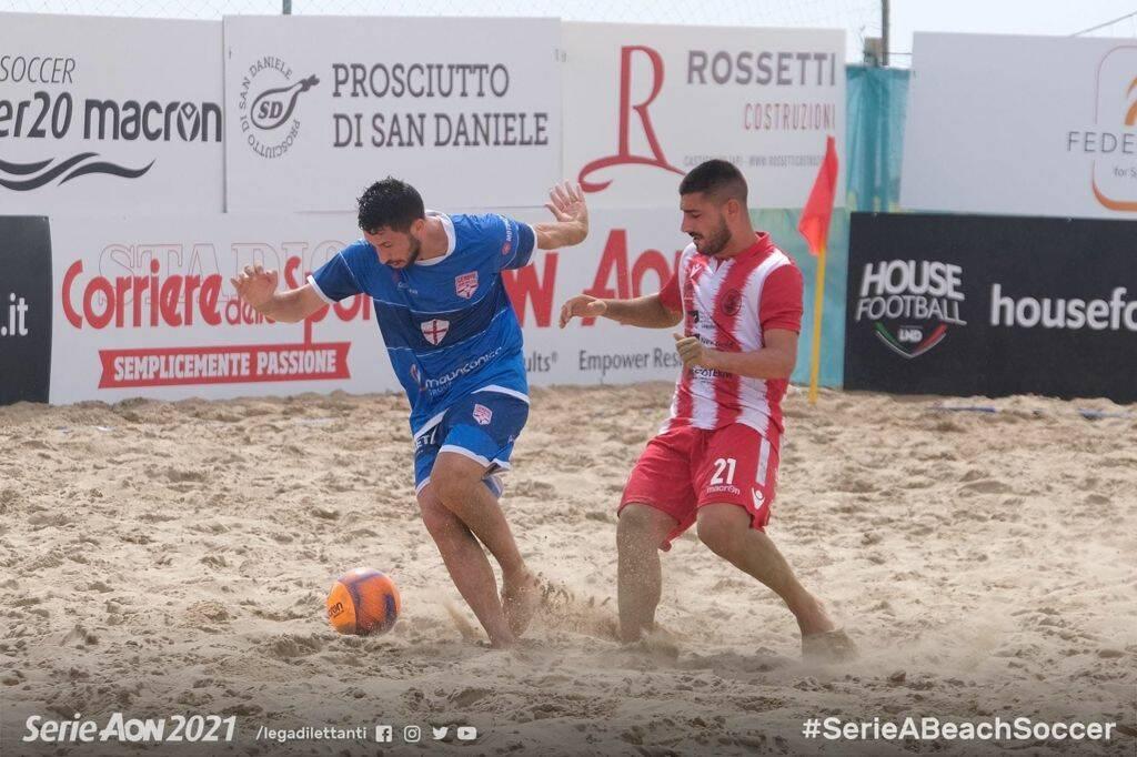 Genova Beach Soccer batte Vastese