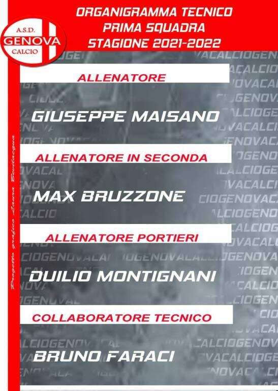 Genova calcio staff