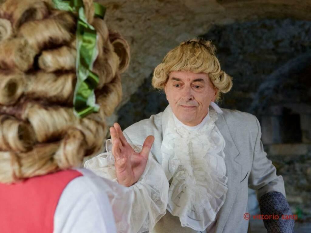 """""""Strazio e Delizia"""" spettacolo I Conviviali Forte Santa Tecla"""