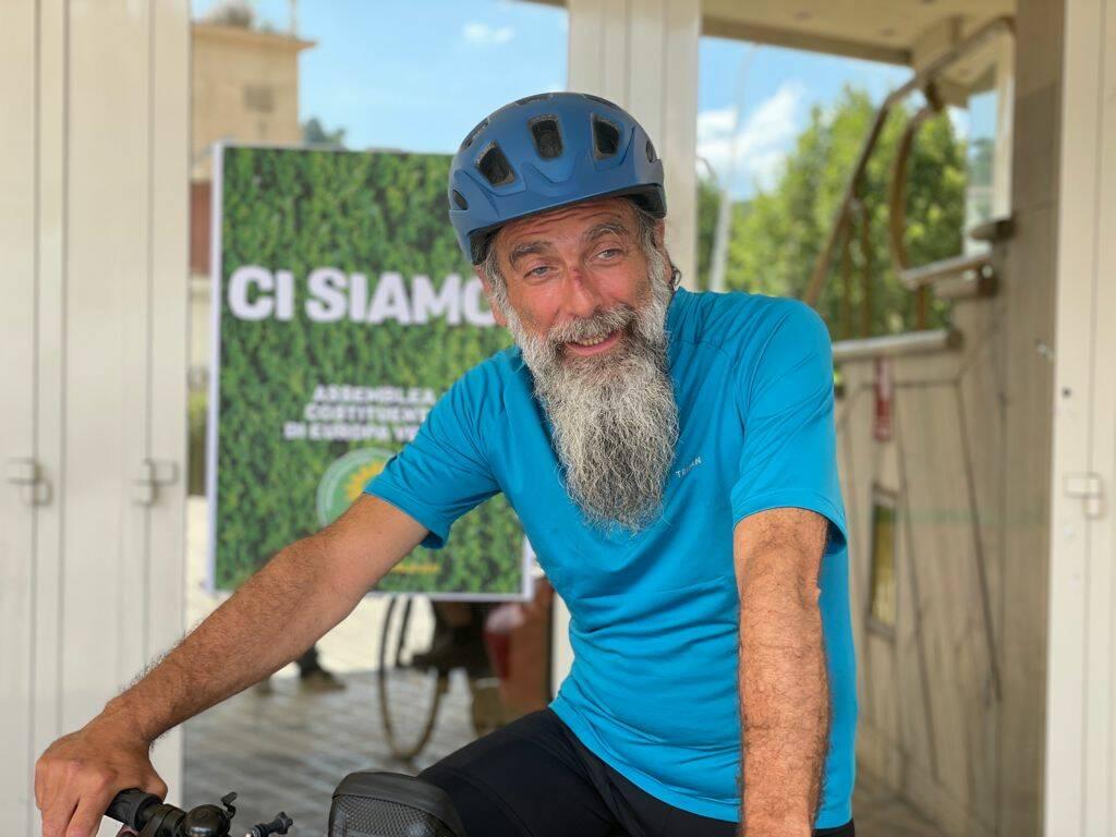 """Gianfranco Mascia attivista """"verde"""" e scrittore"""