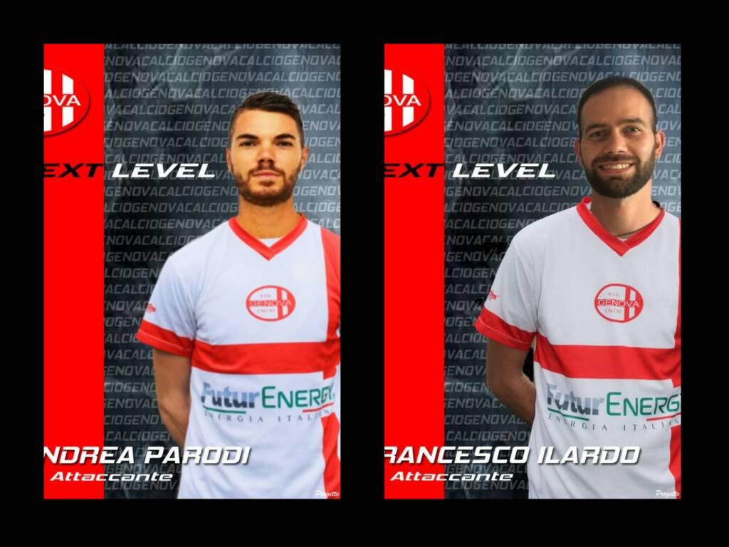 Ilardo e Parodi alla Genova Calcio