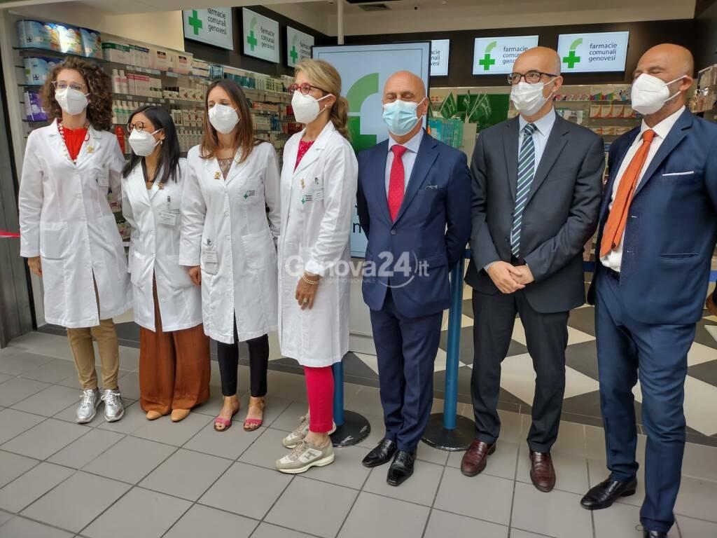 Inaugurazione farmacia comunale Terminal