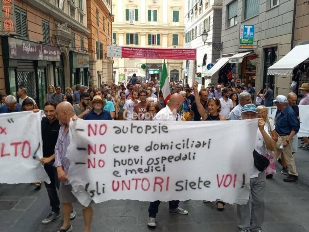 ItalExit contro green pass