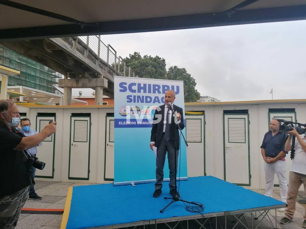 La presentazione del candidato sindaco di Savona Angelo Schirru