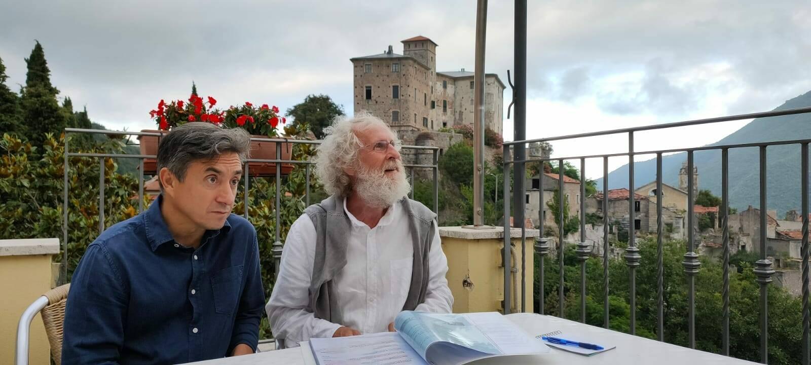 Massimo Calandri scrittore giornalista Pino Petruzzelli attore regista