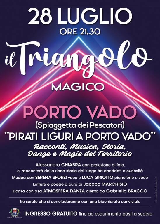 """""""Pirati liguri a Porto Vado"""" incontro rassegna """"Il triangolo magico"""" 2021"""