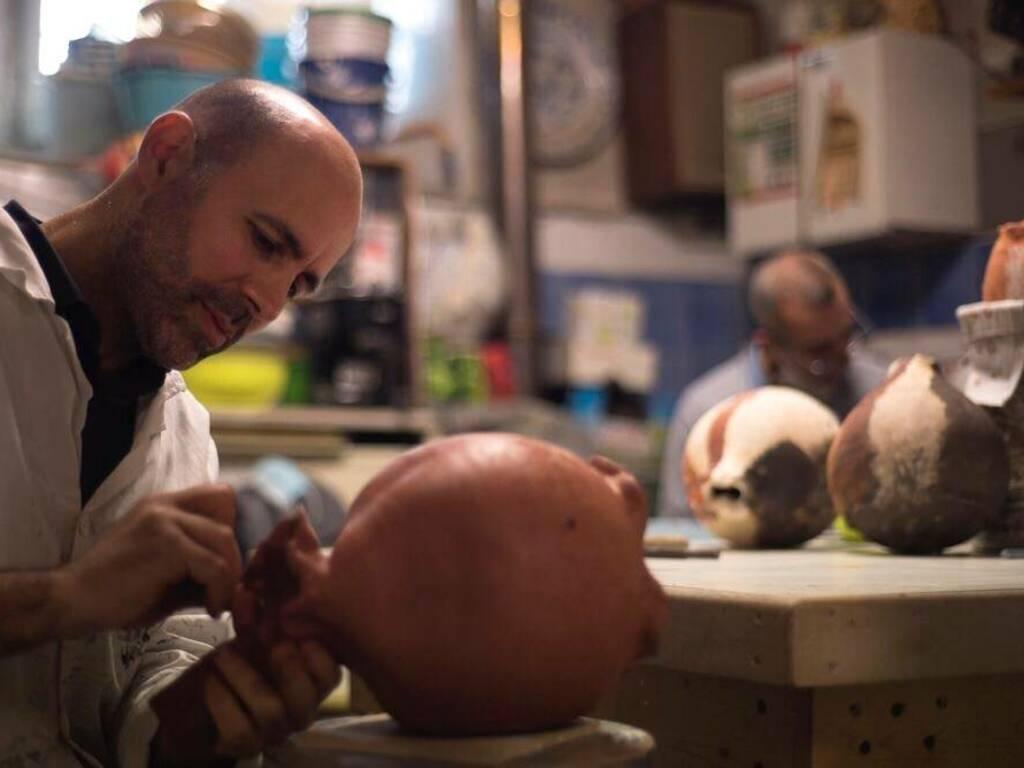 Michele Guido artista ceramica