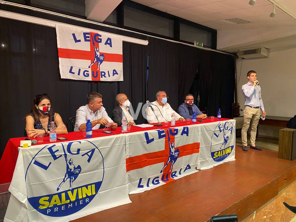 Savona, Schirru incontra i militanti Lega