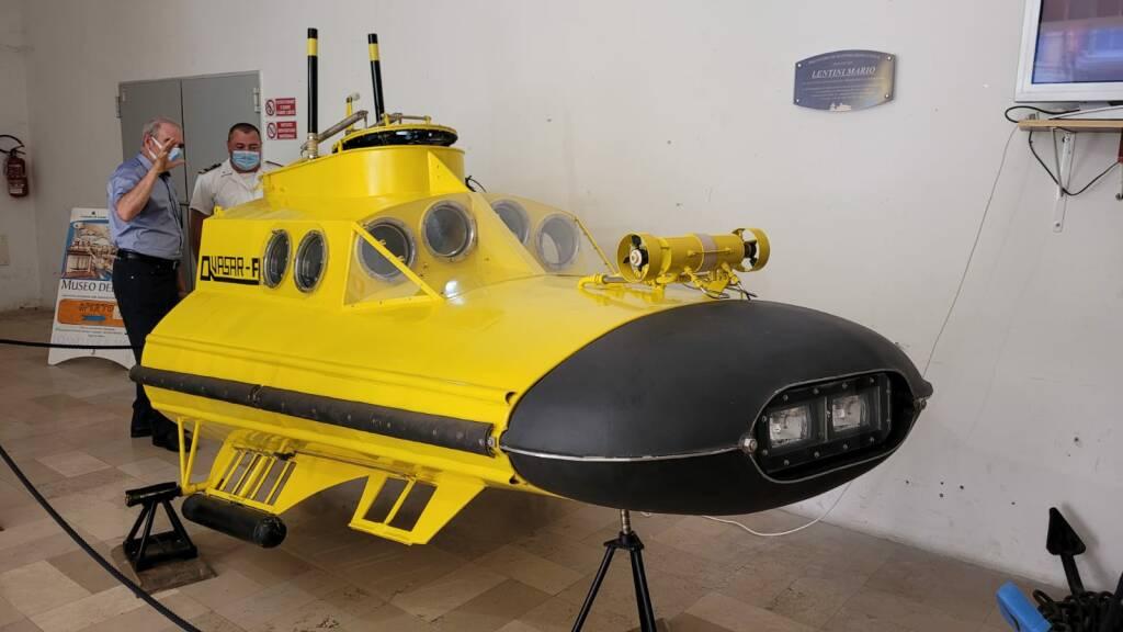 sottomarino quasar a museo del mare Loano