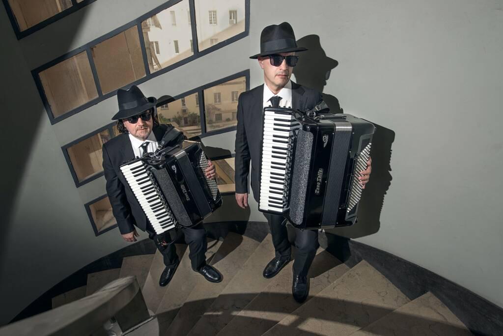 The Italian Accordion Bros duo Roberto Caberlotto e Gilberto Meneghin fisarmonicisti