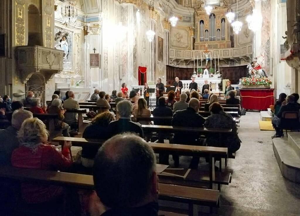 Vado Ligure concerto Accademia del Ricercare e Voxonus Ensemble Chiesa San Maurizio