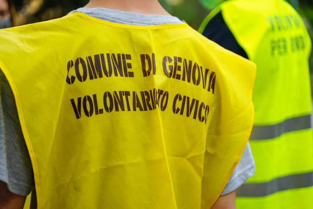 Volontari per Genova