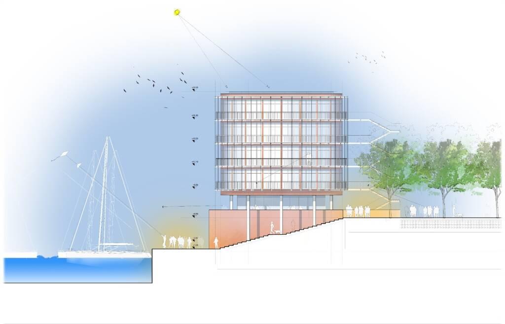 Waterfront di Levante, ecco come saranno i nuovi canali e il parco da 2mila alberi
