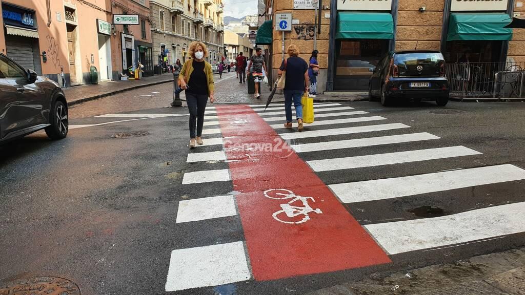 Al via la tracciatura della pista ciclabile in Valpolcevera, passerà sotto il nuovo ponte
