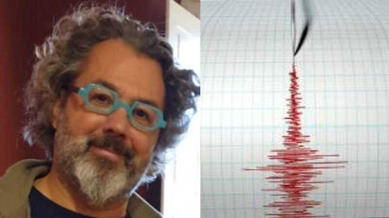 Alessandro Scarpati terremoto scossa