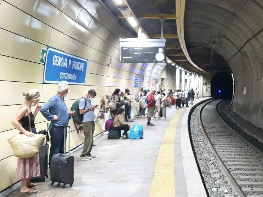 attesa treno