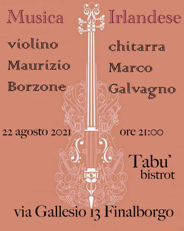 Musica Irlandese violino &chitarra