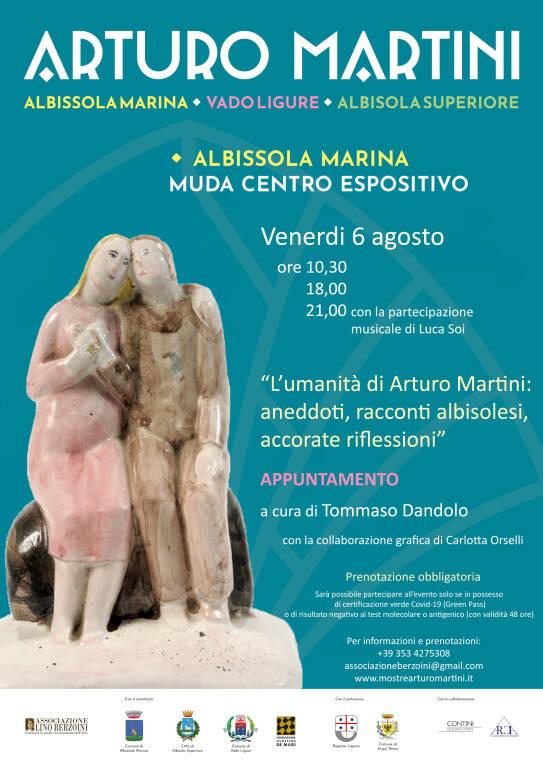 L\'umanità di Arturo Martini: aneddoti, racconti albisolese, accorate riflessioni