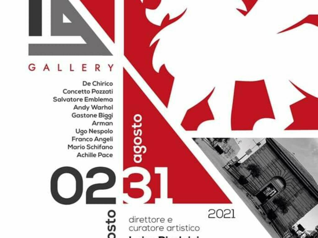 """A Laigueglia \""""I Grandi Maestri della Biennale\""""."""