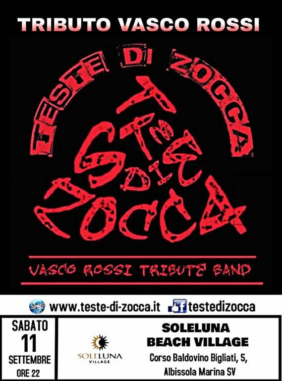 Teste di Zocca Live 2021-Concerto tributo a Vasco Rossi