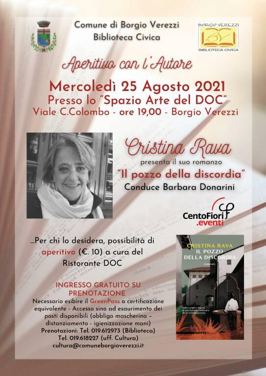 Aperitivc con l\'Autore - Cristina Rava presenta il suo ultimo libro
