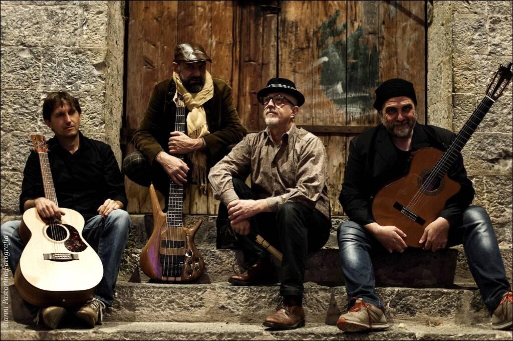 Claudio Bellato Acoustic Combo quartetto musicale