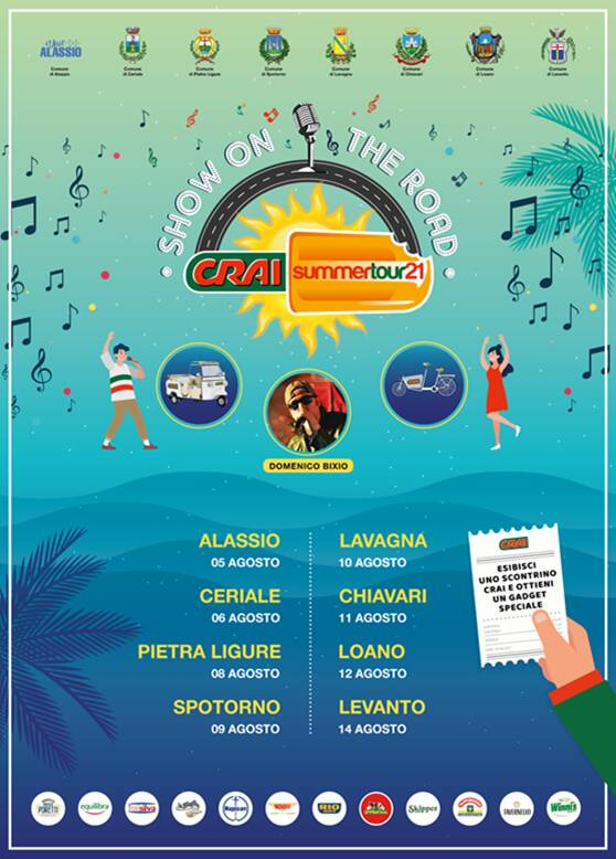 Crai Summer Tour 2021