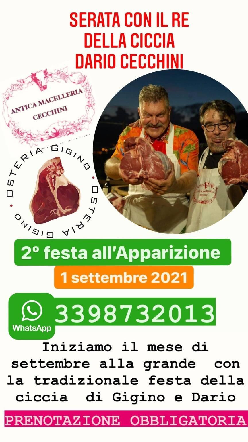 Genova Festa della Ciccia 2021 Apparizione