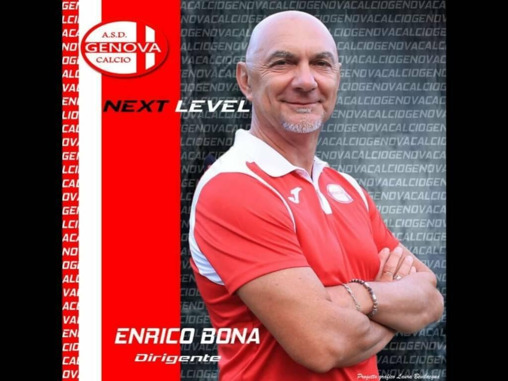 Enrico Bona Genova Calcio