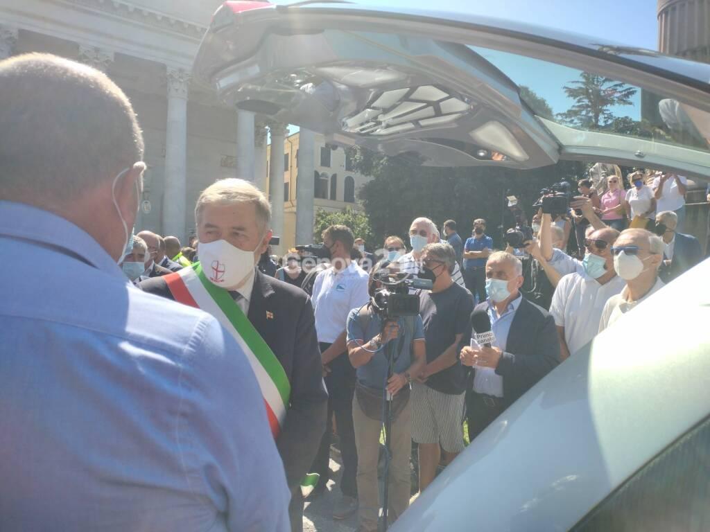 funerale sindaco marco di capua