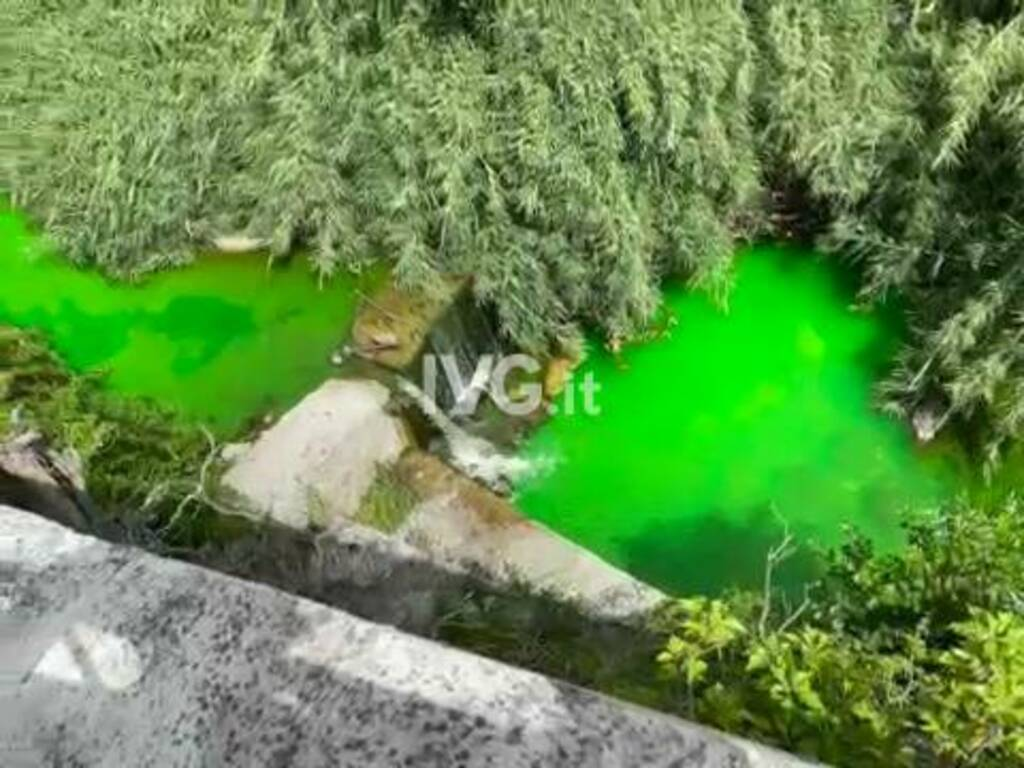 toirano fiume verde