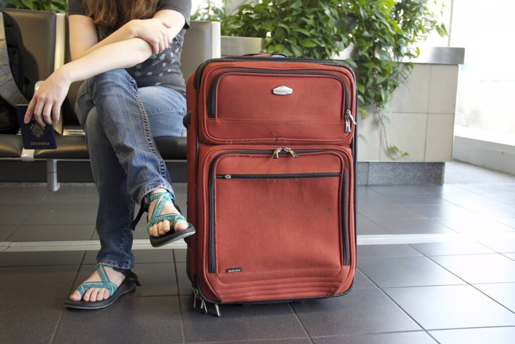turismo vacanze viaggio valigia