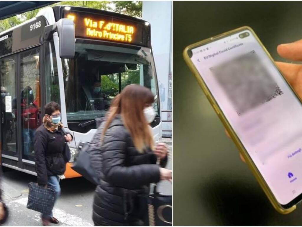 bus amt green pass