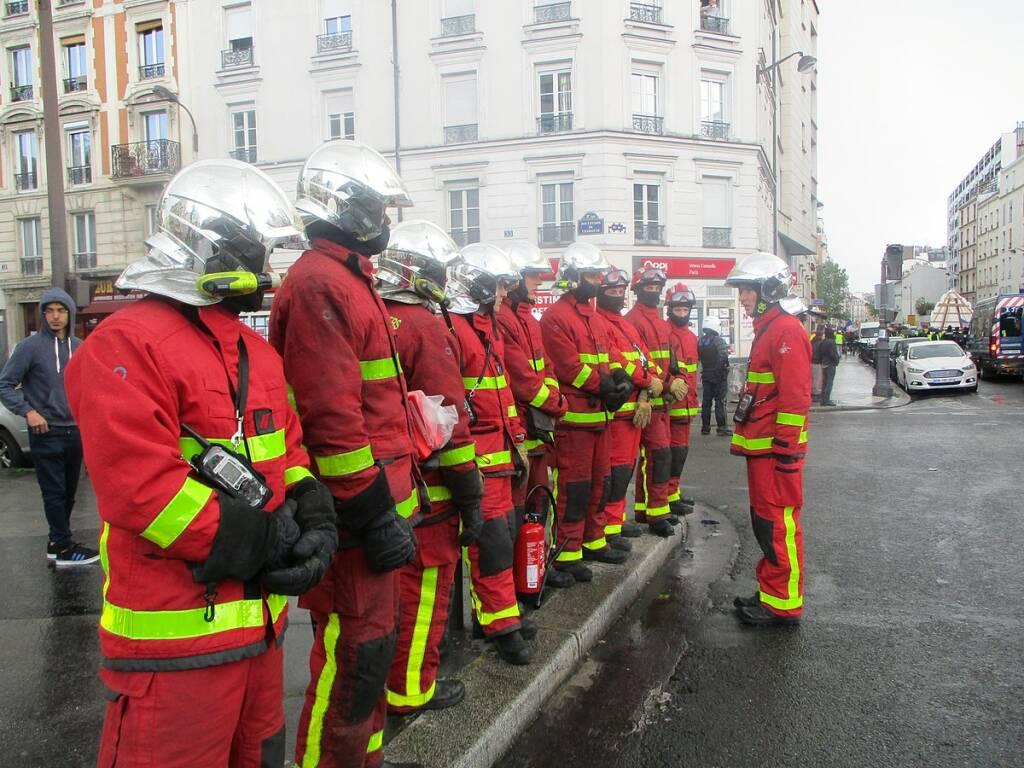 vigili fuoco francesi