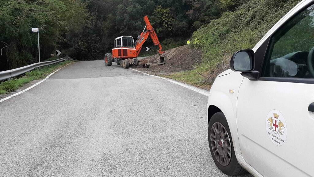 lavori stradali chiusura cantiere