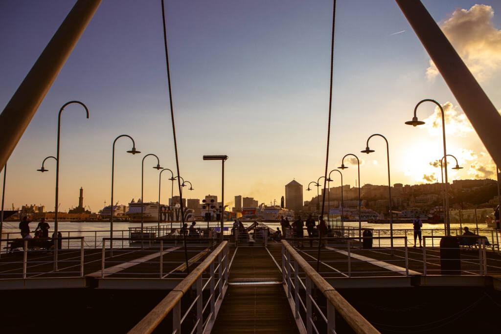 Genova Porto Antico Isola delle Chiatte