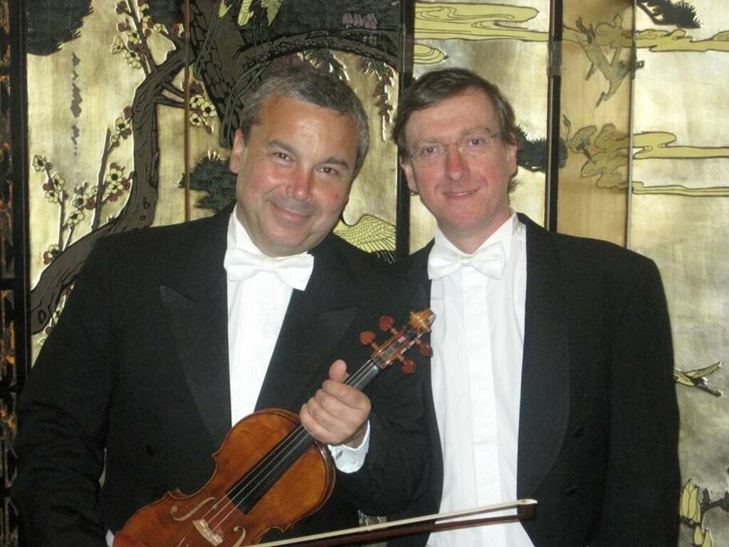 Glauco Bertagnin violinista Simone Pagani pianista