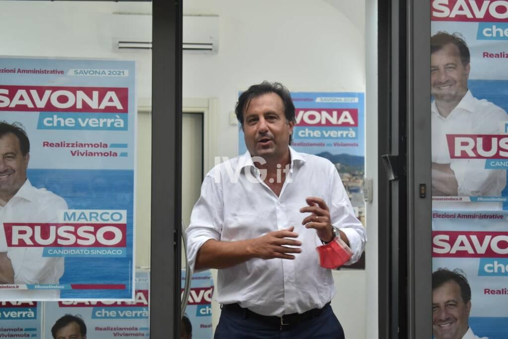 Inaugurazione point elettorale Marco Russo