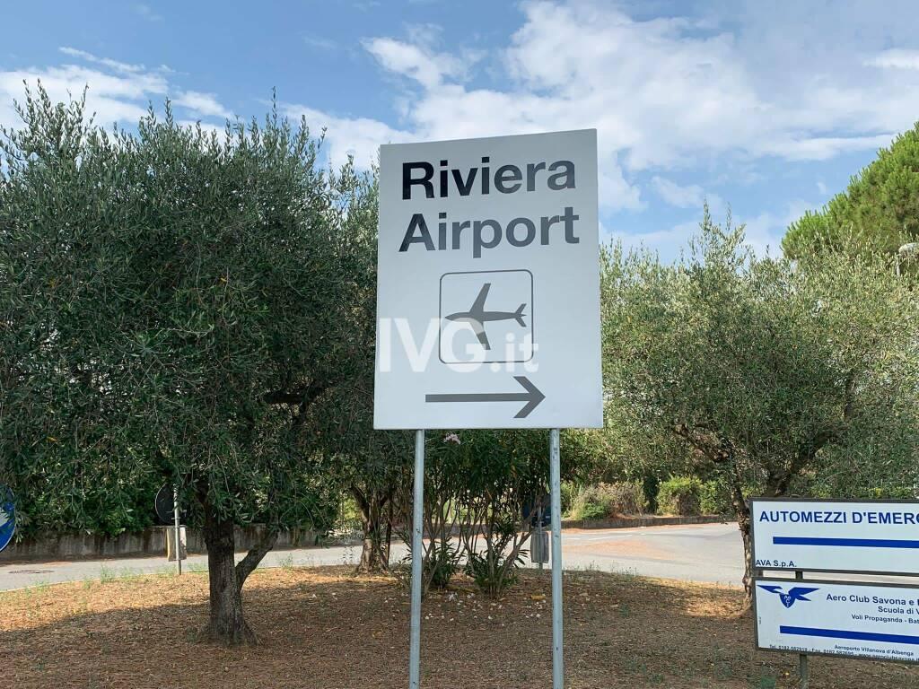 L'aeroporto di Villanova d'Albenga