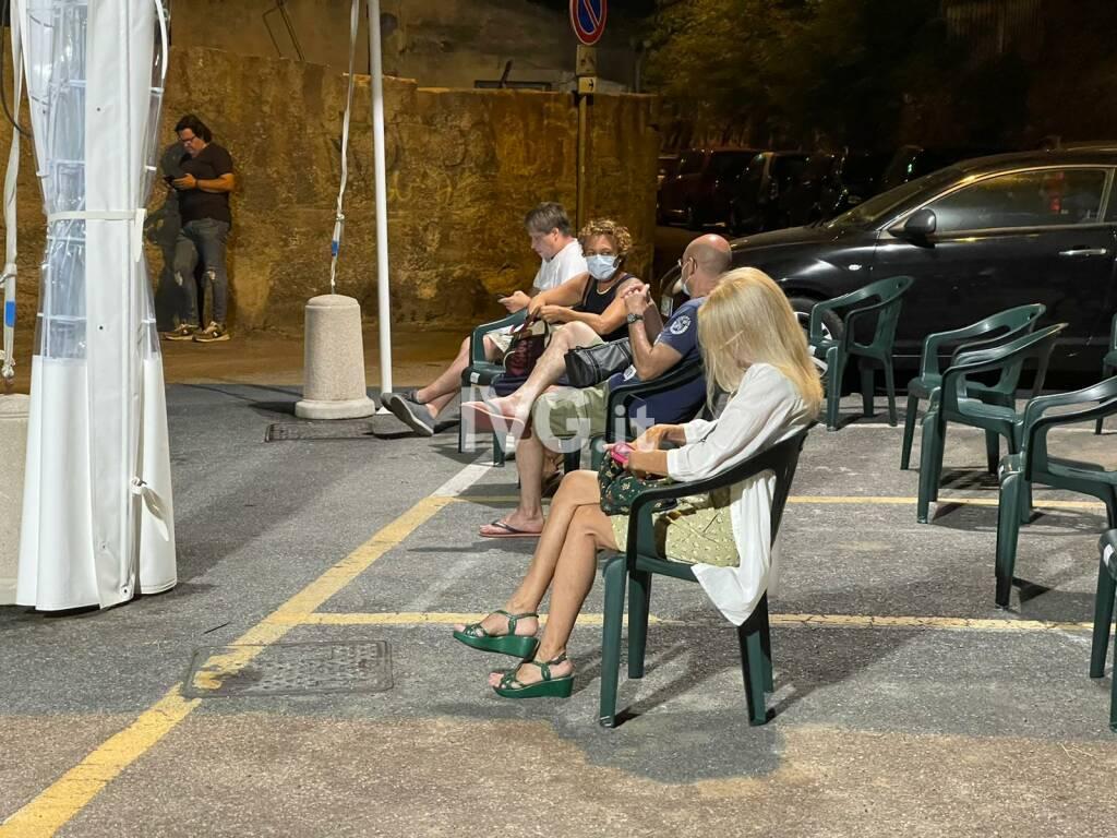 L'open night di Ferragosto ad Alassio