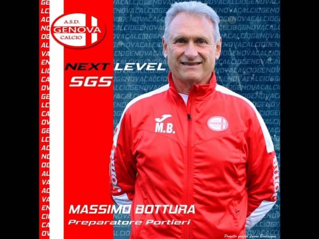 Massimo Bottura portieri Genova Calcio