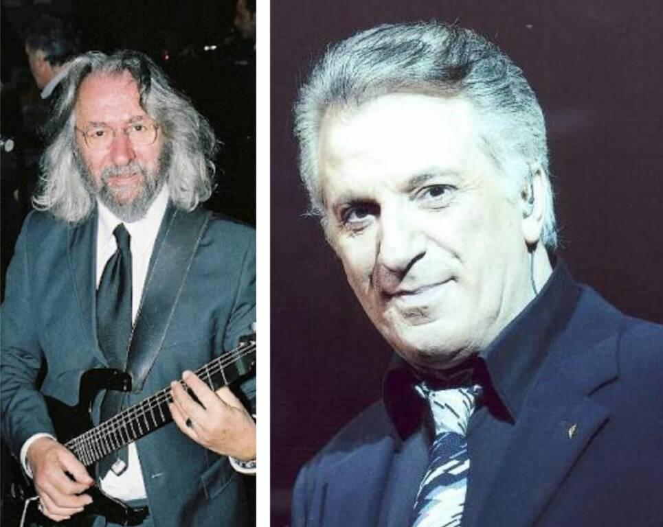 Michele Maisano cantante Genova e Fabrizio Felci chitarrista