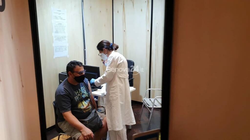 Nuovo hub vaccini al Teatro della Gioventù