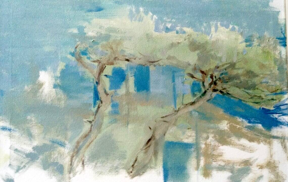 """""""Quel colore lo sai che è il mare"""" mostra Francesca Bellati pittrice"""